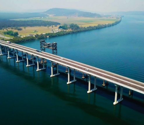 Engineering and environmental service for Bridge over Clarence river