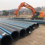 chaffey dam pipeline